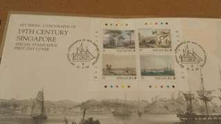 1990 Singapore stamps