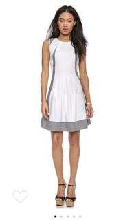 Dvf pleats dress