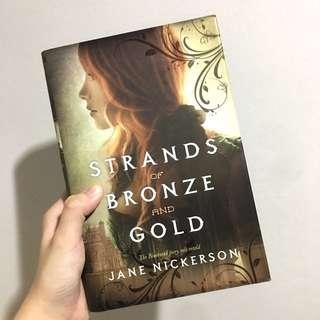 Strands of Bronze and Gold Novel by Jane Nickerson #MakeSpaceForLove