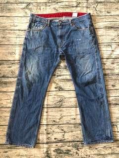 LEVIS 504 w38 牛仔褲 皮標  Levis #55