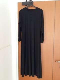 🚚 Muslimah Black Dress