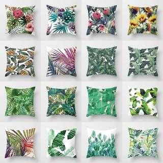 Greenery Cushion Cover
