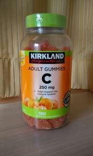 Kirkland Vitamin C 180 Gummies