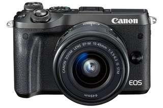 Kredit kamera Canon Eos M6 hanya nunggu acc 3 menit aja