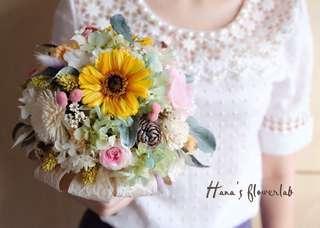 Bridal Bouquet (Preserved Flower & Dried Flower)