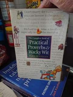 *Free Mailing*Practical Proverbs & Wacky Wit // Vern McLellan