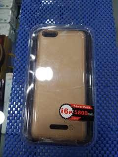 Iphone 6 plus 5800mah slot in power bank