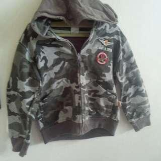 Jaket army little M
