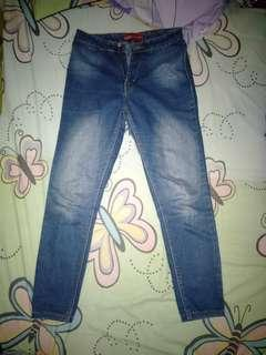 Celana highwaist size 28-29