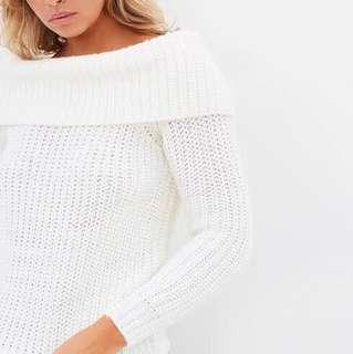 BARDOT OFF-SHOULDER JUMPER