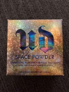 Urban decay shimmer powder