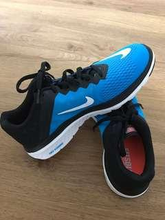 Nike Womens Blue FS Lite Run 3 Running Shoes
