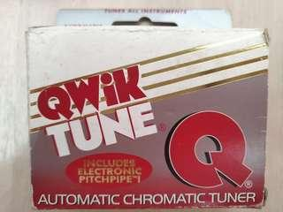 Qwik Tuner Q automatic chromatic tuner for all instruments. Free postage