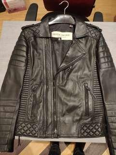 Dijual: BODA SKINS Kay Michael Leather Jacket Original