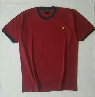 Kaos lyle and scott maroon
