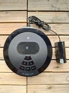 無線充電音箱床頭雙鬧鐘 NFC藍牙連接