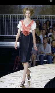 3.1 Phillip Lim Runway Silk Embellished Beaded Dress