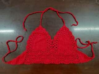 Red 2 Piece Swimsuit