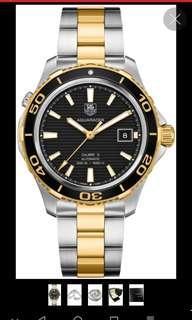 TAG Heuer Aquaracer Calibre 5 Automatic Watch (Full Set)