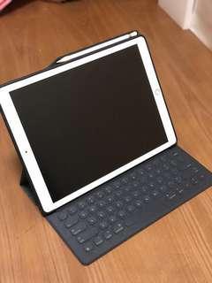 "Apple iPad Pro 12.9"" 256G wifi Gold Gen2 Full Set"
