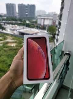 IPHONE XR 64 RED PRODUCT 2800 RM