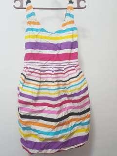 Rainbow Short Dress