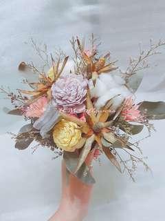 🚚 捧花 乾燥花束 手拿花 居家裝飾