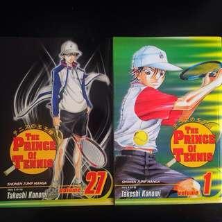 The Prince Of Tennis Vol 1 & 27 (English)