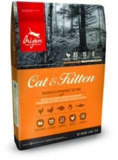 Origen 6 Fish 6kg / Origen Cat & Kitten 1.8kg