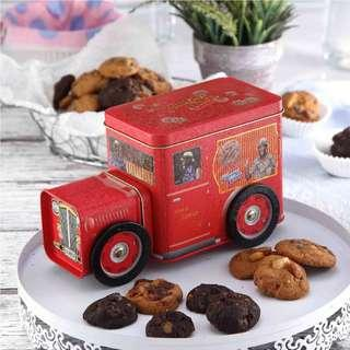 Famous Amos Cookies Container (Vintage Car)
