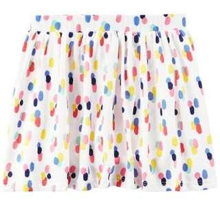 Carters Girl Polka Dots Skirt