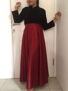 Longdress blackred