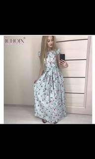Belle Floral Dress