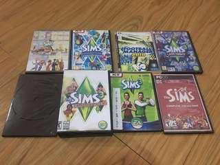 DVD Games The Sims Collection Lengkap