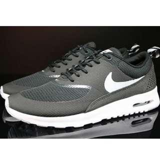 buy popular 38bdd 45567 Authentic Women s Nike Air Max Thea (Black Wolf Grey), Size 5 (