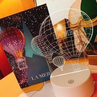 🚚 La mer 海洋拉娜 熱氣球造型燈