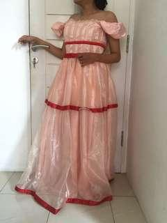 Dress pink promnight