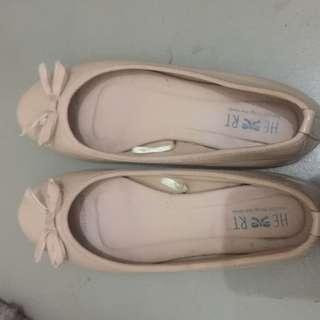The Little Things Nude Flat Shoes