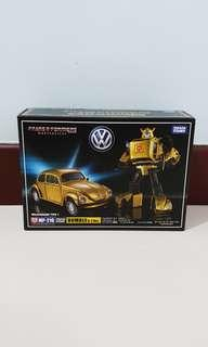 Clearance Sale - Transformer Masterpiece MP 21G G2 Gold Bumblebee
