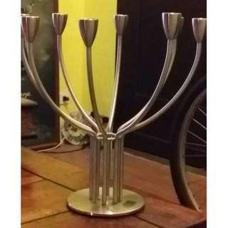 不鏽鋼設計師蠟燭台