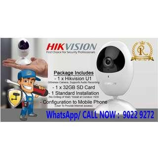 🚚 Wireless Camera with installation (Hikvision)