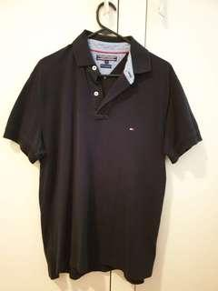 Tommy Hilfiger Navy Polo Tee