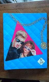 Ab Fab Absolutely Fabulous Ring Binder Jennifer Saunders Joanna Lumley