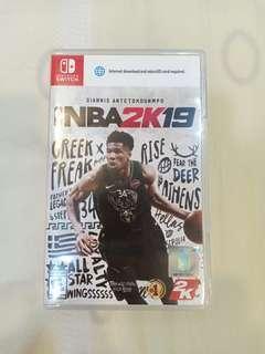 Nintendo Switch Used Game NBA 2k19