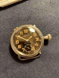 Zenith 磁面 軍錶