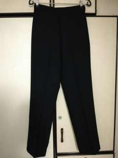 Women High waist Black Long Pants (SELF COLLECT)