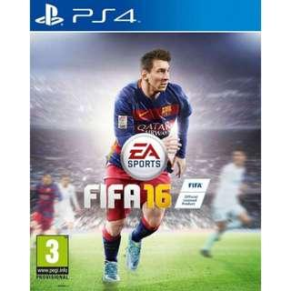PS4 FIFA 16 R3 - Voice English, Subtitle Chinese/English (used)