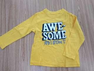 Awesome Yellow Long Sleeve by Okie Dokie