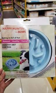 Slow feeder for dogs / dog bowl