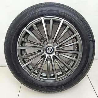 "16"" Sports Rim With Tyres 5x114.3 (SR1743)"